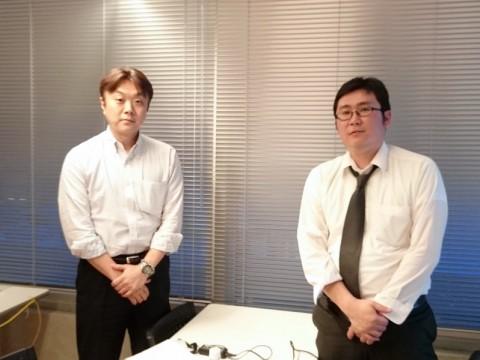 左:エムエムツインズ田邊さん、右:今回の講師ロンウイット阿部