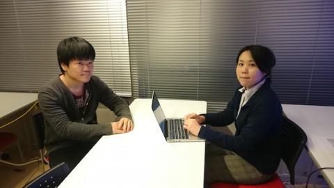 弊社講師(右)と増子さん(左)