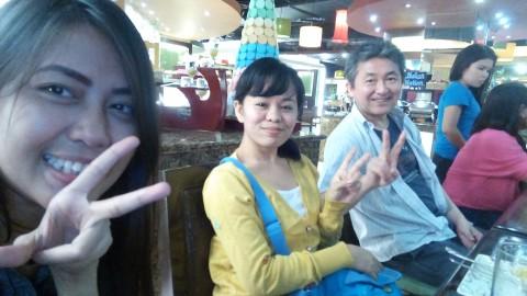 Teacher Lovely (most left)