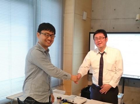 左:エニグモ木村さん、右:講師ロンウイット阿部