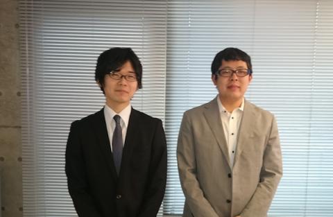 中川さん(左)と田中さん(右)